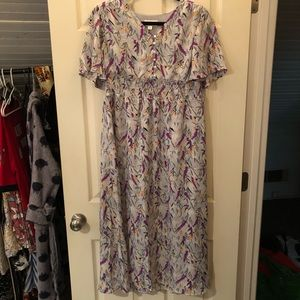 Bohme midi floral dress